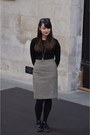 Black-office-shoes-black-maxmara-skirt-black-primark-jumper