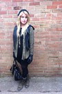 Black-topshop-vest-army-green-h-m-shirt-black-new-look-dress-army-green-sa