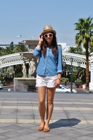 Topshop shirt - Urban shoes - jack wills shorts