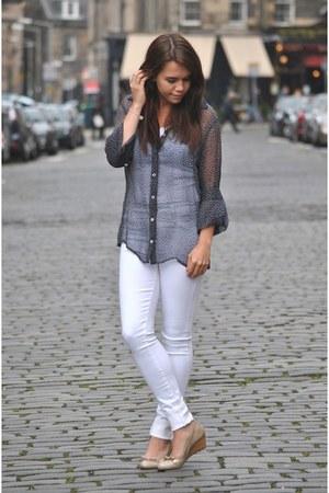 James Jeans jeans - Hugo Boss blouse - Hispanita wedges