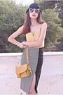 Black-oasap-heels-light-yellow-threadsence-dress-black-hat