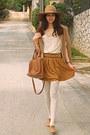 Camel-oxford-topshop-shoes-camel-hat-bronze-mimi-boutique-bag