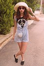 White-heart-studded-romwe-bag-periwinkle-dungarees-diy-shorts