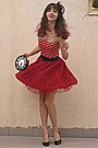 Ruby-red-polka-dot-ax-paris-dress-ruby-red-fascinator-hat