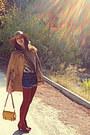 Mustard-vintage-blouse-brick-red-h-m-boots-camel-h-m-hat-mustard-lulus-bag