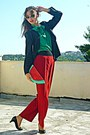 Black-blazer-red-watermelon-diy-bag-red-pants-black-pumps