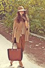 Camel-h-m-hat-burnt-orange-d-g-bag-nude-steve-madden-heels