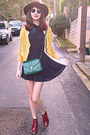 Ruby-red-boots-black-romwe-dress-teal-accessorize-bag