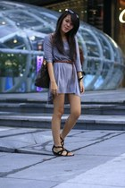 H&M dress - Charles & Keith shoes - Louis Vuitton bag - H&M sunglasses