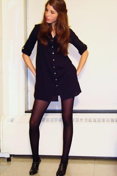 black blouses black tights black shoes quot oxford heels