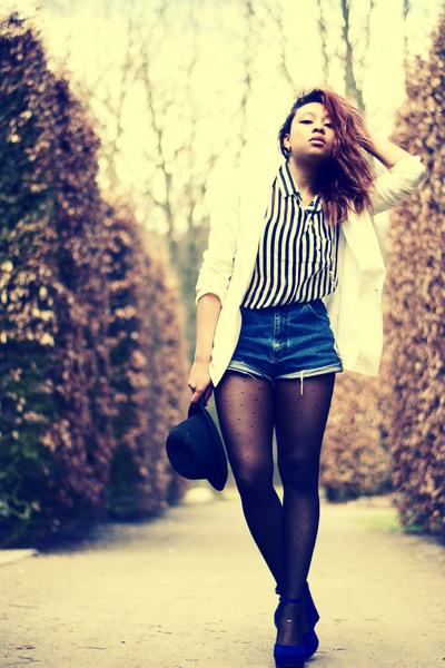 Lee jeans - H&M blazer - GINA TRICOT shirt