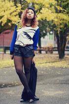 OASAP sweater - H&M shorts - Primark heels