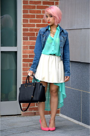 skater skirt Urban Outfitters skirt - shirt dress Forever21 dress