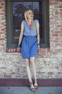 Blue-denim-diy-dress-gold-belle-sigerson-morrison-sandals