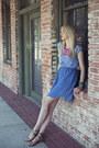 Blue-denim-diy-dress-gold-belle-sigerson-morrison-sandals