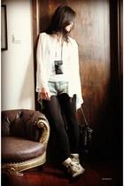 SKIIN shirt - pandora Givenchy bag