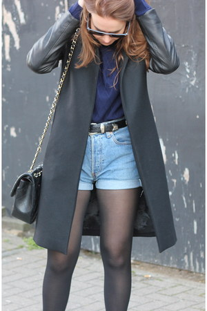 Zara jacket - Chanel bag