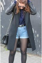 Zara jacket - Chanel bag