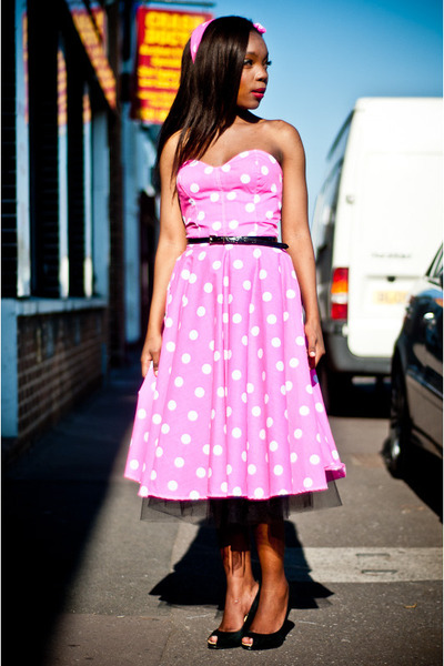 bubble gum cotton Style Icons Closet dress