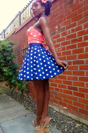 navy Style Icons Closet skirt