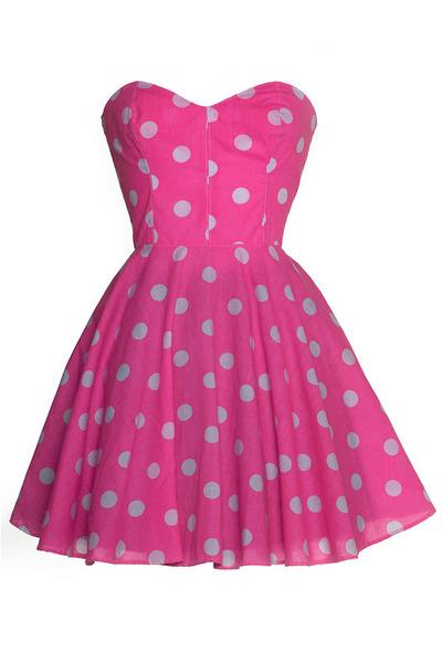 hot pink Style Icons Closet dress