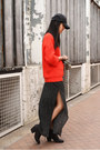 Aldo-boots-general-idea-hat-topshop-sweater-marks-spencer-skirt