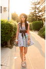 Silver-from-japan-dress-brown-from-japan-hat-pink-from-korea-shoes-gray-al