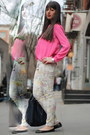 Prada-bag-hot-pink-forever21-blouse