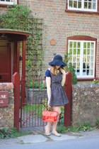 fedora Primark hat - DIY dress - Primark shirt - satchel ted baker bag
