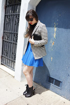 ivory steven alan jacket - black Urban Outfitters sunglasses - black ASTR top