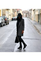 gray Zara coat
