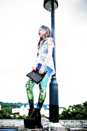 aurora leggings Black Milk Clothing tights - UNIF shoes