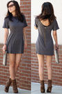 Gray-ellelauri-dress-brown-dollhouse-boots-gray-deena-ozzy-bag