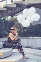 Alexander Wang bag - Karen Walker sunglasses - Zara heels - asoscom pants