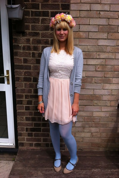 light pink Primark dress