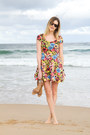 Bubble-gum-h-m-dress-tan-zara-sandals