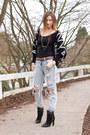 Black-zara-boots-light-blue-one-teaspoon-jeans-black-chicnova-sweater