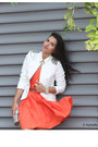Carrot-orange-babassu-dress-white-ministry-of-retail-blazer