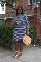 navy striped Ralph Lauren dress - white striped Ralph Lauren dress