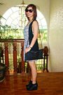 Forever-21-dress-forever-21-shoes-mango-vest-purse