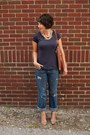 Navy-old-navy-jeans-brown-target-bag-dark-khaki-tjmaxx-heels