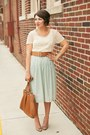 Brown-thrifted-belt-dark-khaki-gold-tjmaxx-shoes-beige-polka-dots-xxi-top
