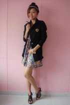 tss blazer - two two dress - GoJane shoes
