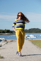 yellow Thakoon for Target shirt - yellow BB Dakota pants