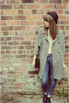 overized Topshop coat