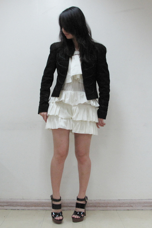 Zara jacket - koo shorts - Forever21 shoes