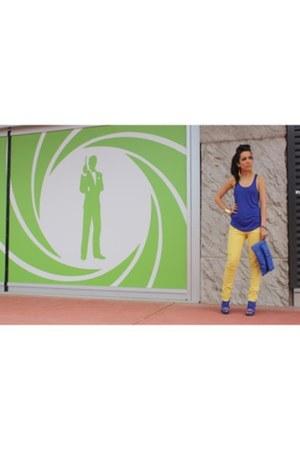 Primark pants - asos top - Zara heels