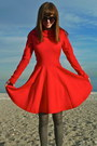 Red-asos-dress-silver-simply-vera-by-vera-wang-tights