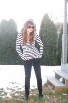 white Forever 21 shirt - black Levis jeans - black Angelo Luzio shoes - gray For