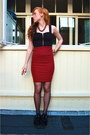 Black-suede-creeper-shoes-black-zipper-h-m-top-brick-red-midi-c-a-skirt